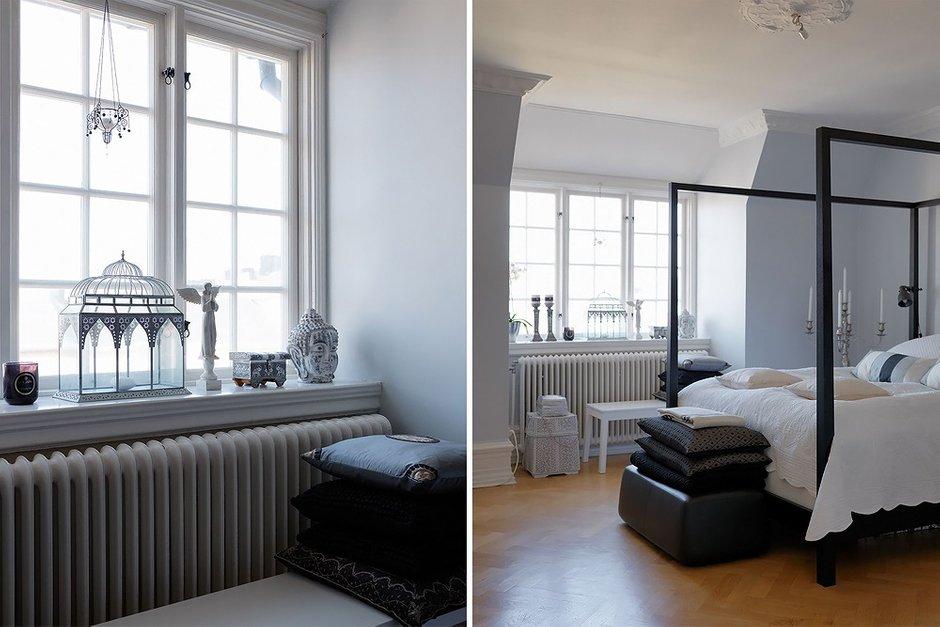 Фотография: Прочее в стиле , Спальня, Классический, Декор интерьера, Интерьер комнат, Цвет в интерьере, Проект недели, Стены, Лепнина – фото на INMYROOM