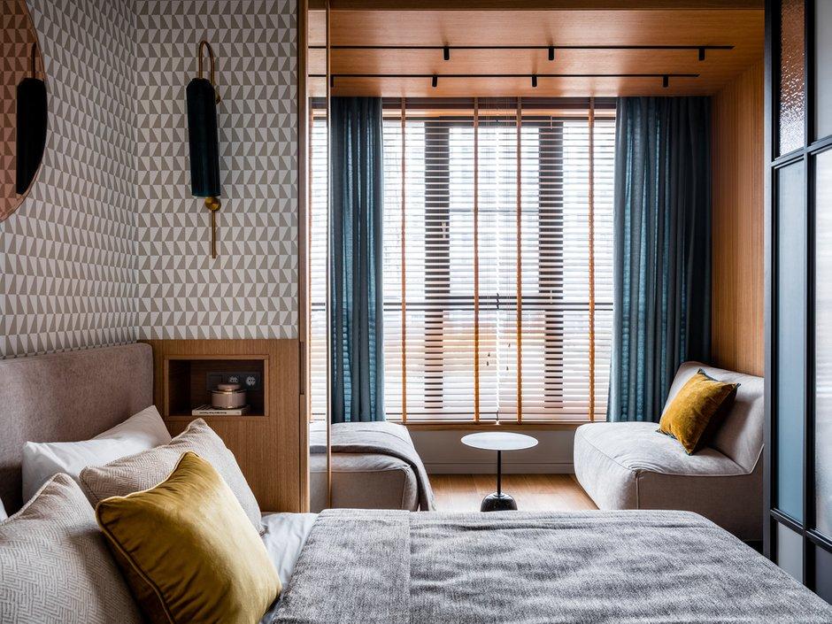 Фотография: Спальня в стиле Современный, Проект недели, Москва, 4 и больше, 60-90 метров, Make Interiors, Влада Петерсон – фото на INMYROOM