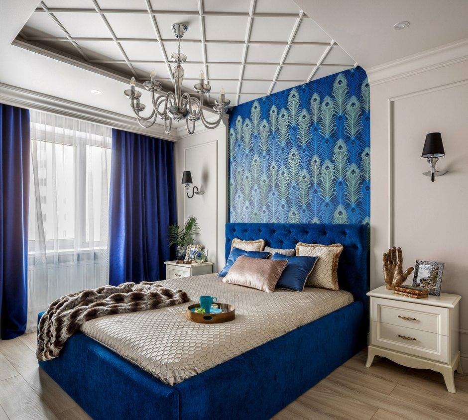 Фотография: Спальня в стиле Современный, Квартира, Проект недели, Монолитный дом, 3 комнаты, 60-90 метров, Саратов, Quadrum Studio – фото на INMYROOM