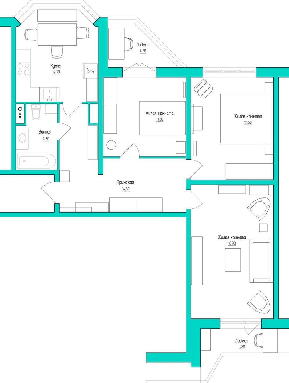Фотография: Прочее в стиле , Квартира, Дома и квартиры, Прованс, Проект недели, Москва – фото на INMYROOM