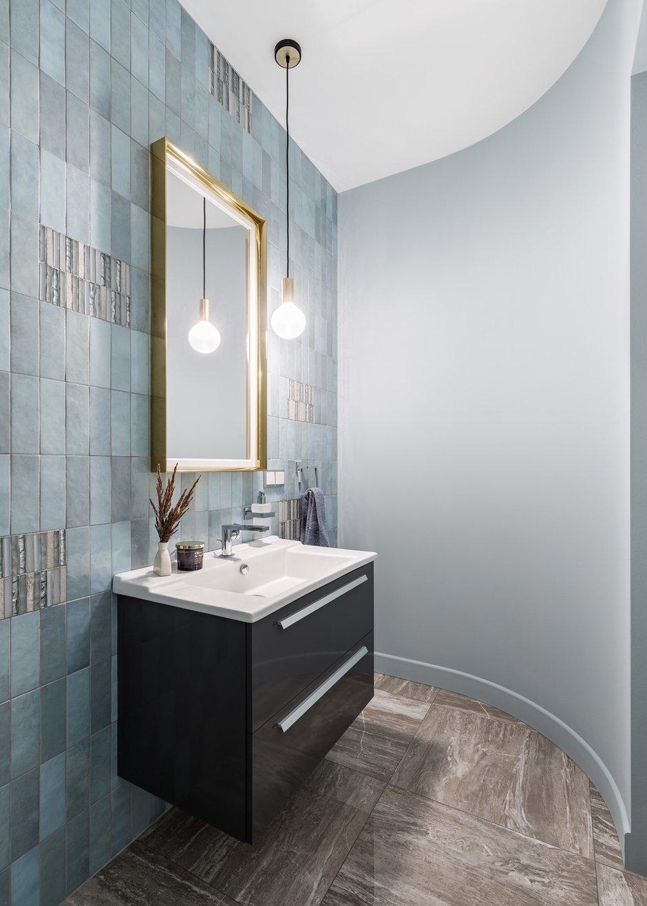 Фотография: Ванная в стиле Современный, Квартира, Проект недели, Санкт-Петербург, 3 комнаты, Более 90 метров, Аушрине Железнова – фото на INMYROOM