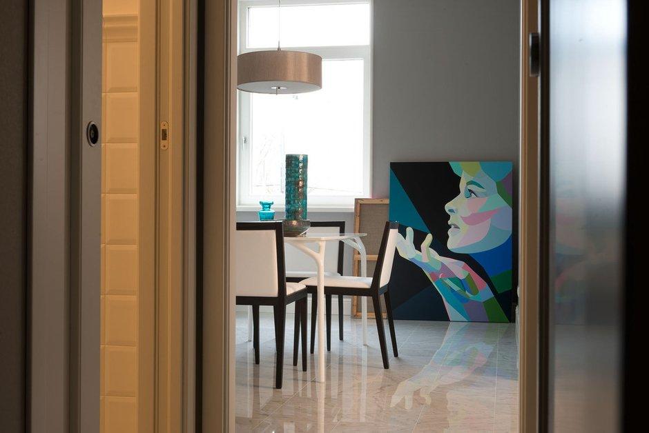 Фотография: Кухня и столовая в стиле Современный, Квартира, Декор, Проект недели – фото на INMYROOM