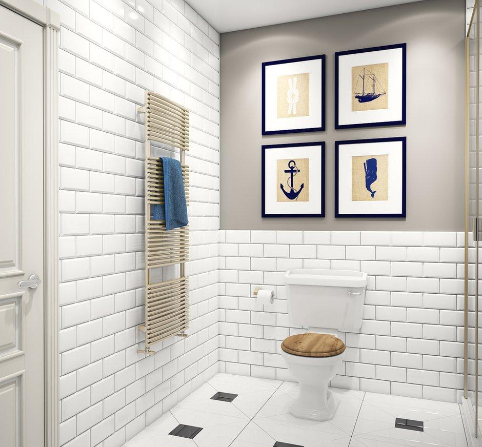 Фотография: Ванная в стиле , Квартира, Дома и квартиры, Проект недели – фото на InMyRoom.ru