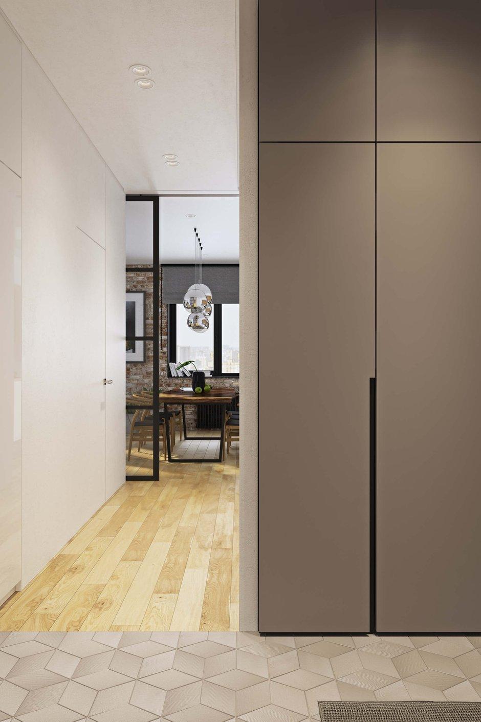 Фотография: Прихожая в стиле Современный, Квартира, Проект недели, Москва, Geometrium, ЖК «Водный», 2 комнаты, 60-90 метров – фото на INMYROOM