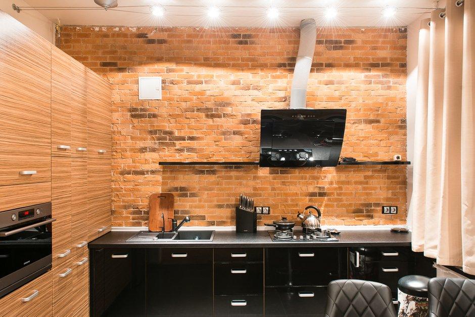 Фотография: Кухня и столовая в стиле Лофт, Квартира, Дома и квартиры, Киев – фото на INMYROOM