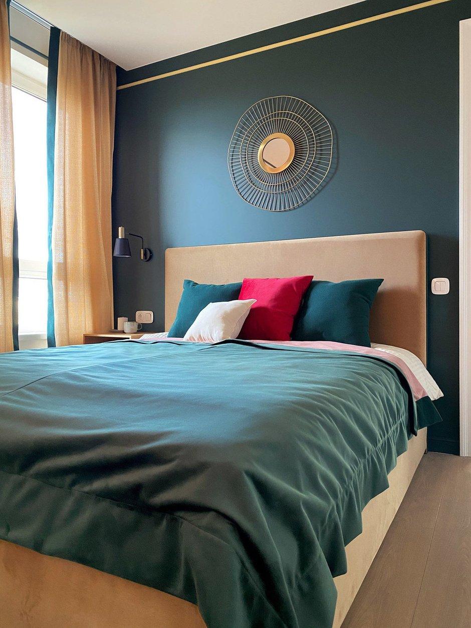 Фотография: Спальня в стиле Современный, Квартира, Проект недели, Красногорск, 2 комнаты, 40-60 метров, One Line Design – фото на INMYROOM