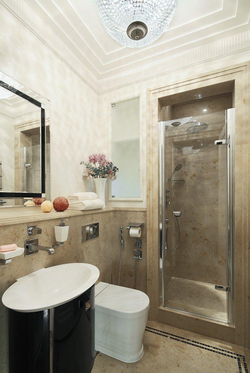 Фотография: Ванная в стиле Классический, Квартира, Проект недели, Москва, Ар-деко, Faber Group – фото на InMyRoom.ru