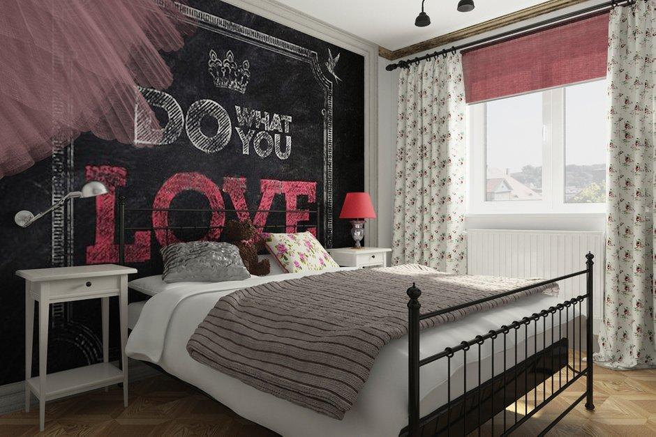 Фотография: Спальня в стиле Лофт, Эклектика, Квартира, Дома и квартиры, IKEA, Проект недели – фото на INMYROOM