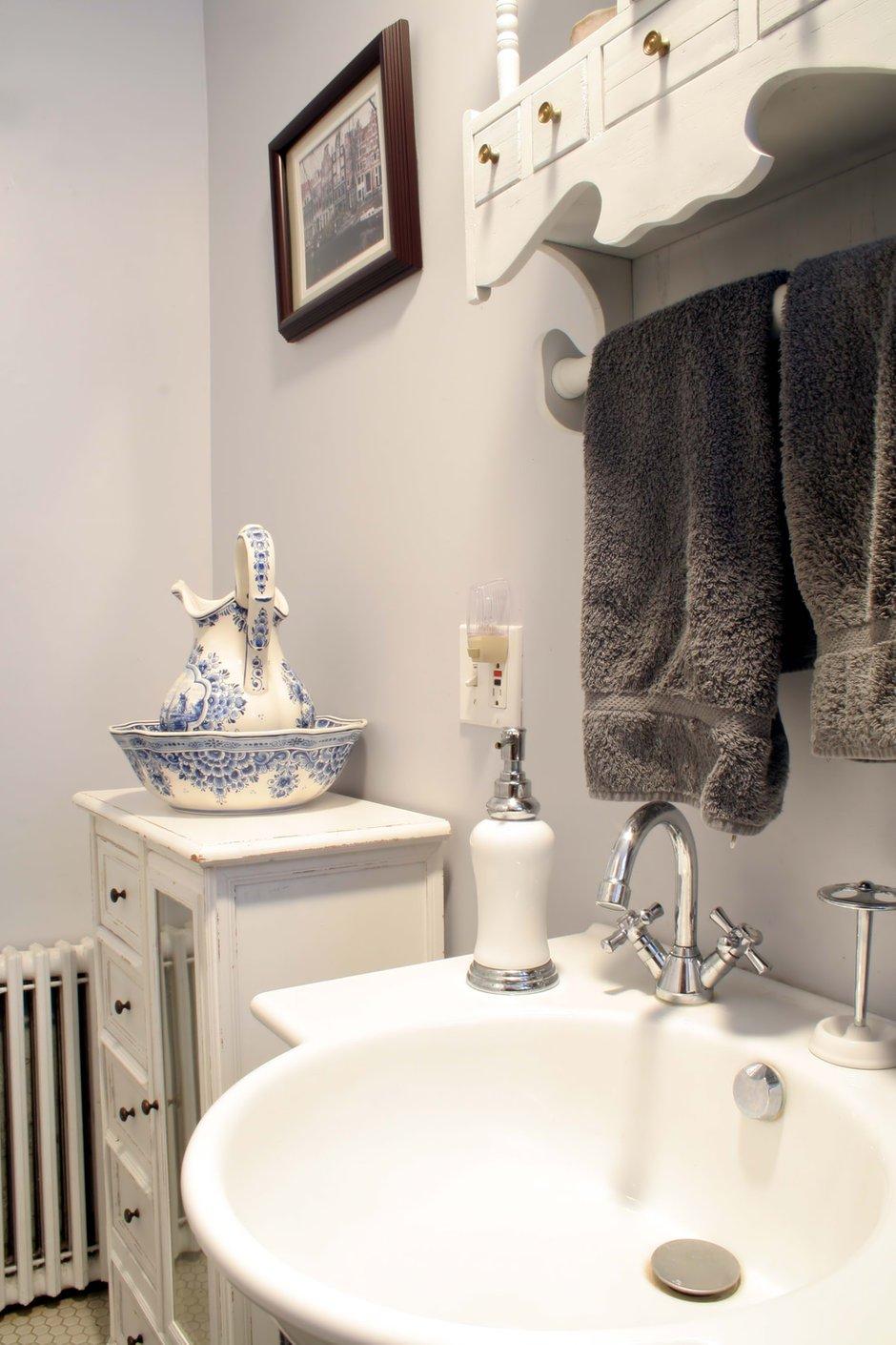 Фотография: Ванная в стиле Прованс и Кантри, Современный, Декор интерьера, Квартира, Дом, Интерьер комнат – фото на INMYROOM