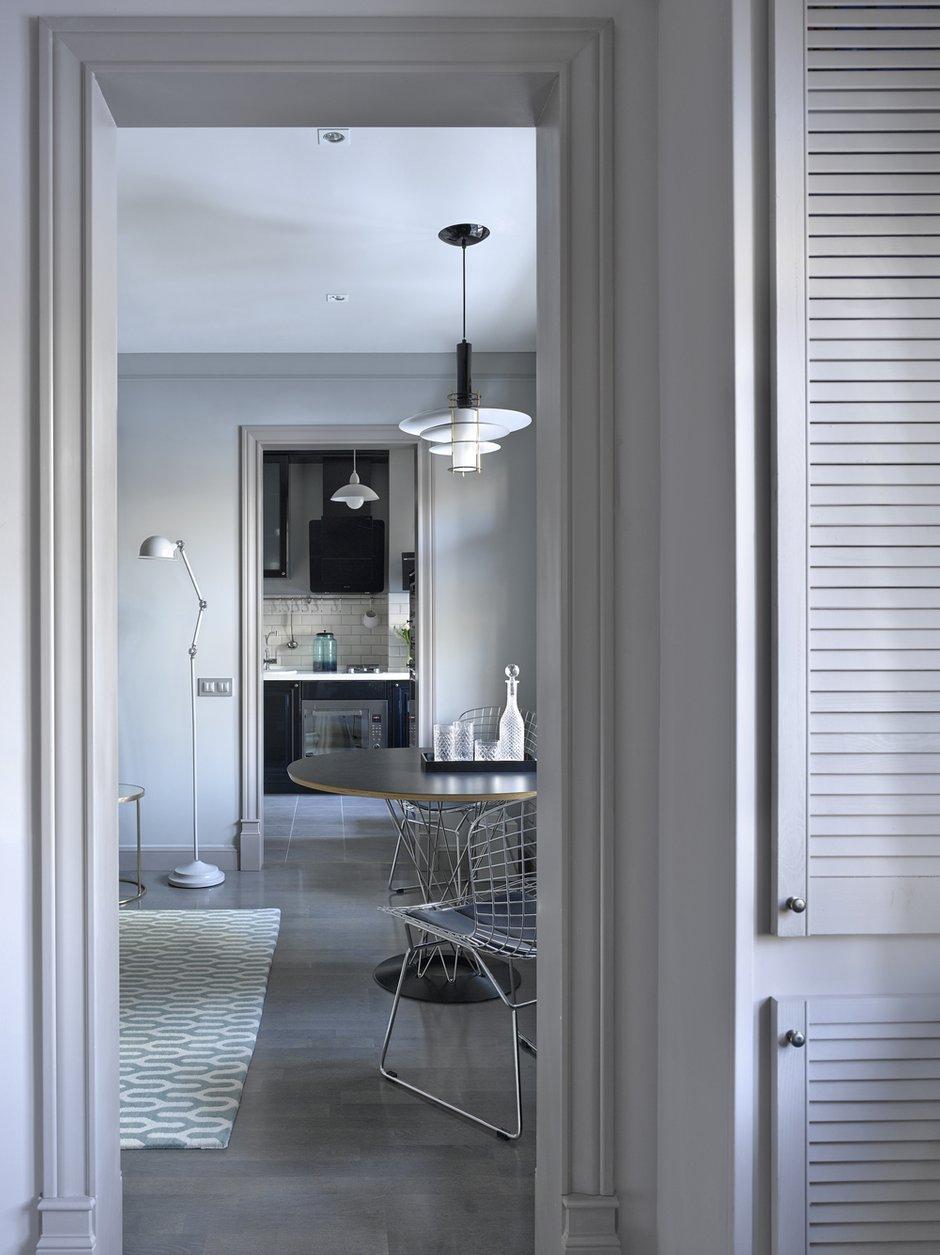 Фотография: Кухня и столовая в стиле Скандинавский, Квартира, Проект недели, 2 комнаты, до 40 метров – фото на INMYROOM