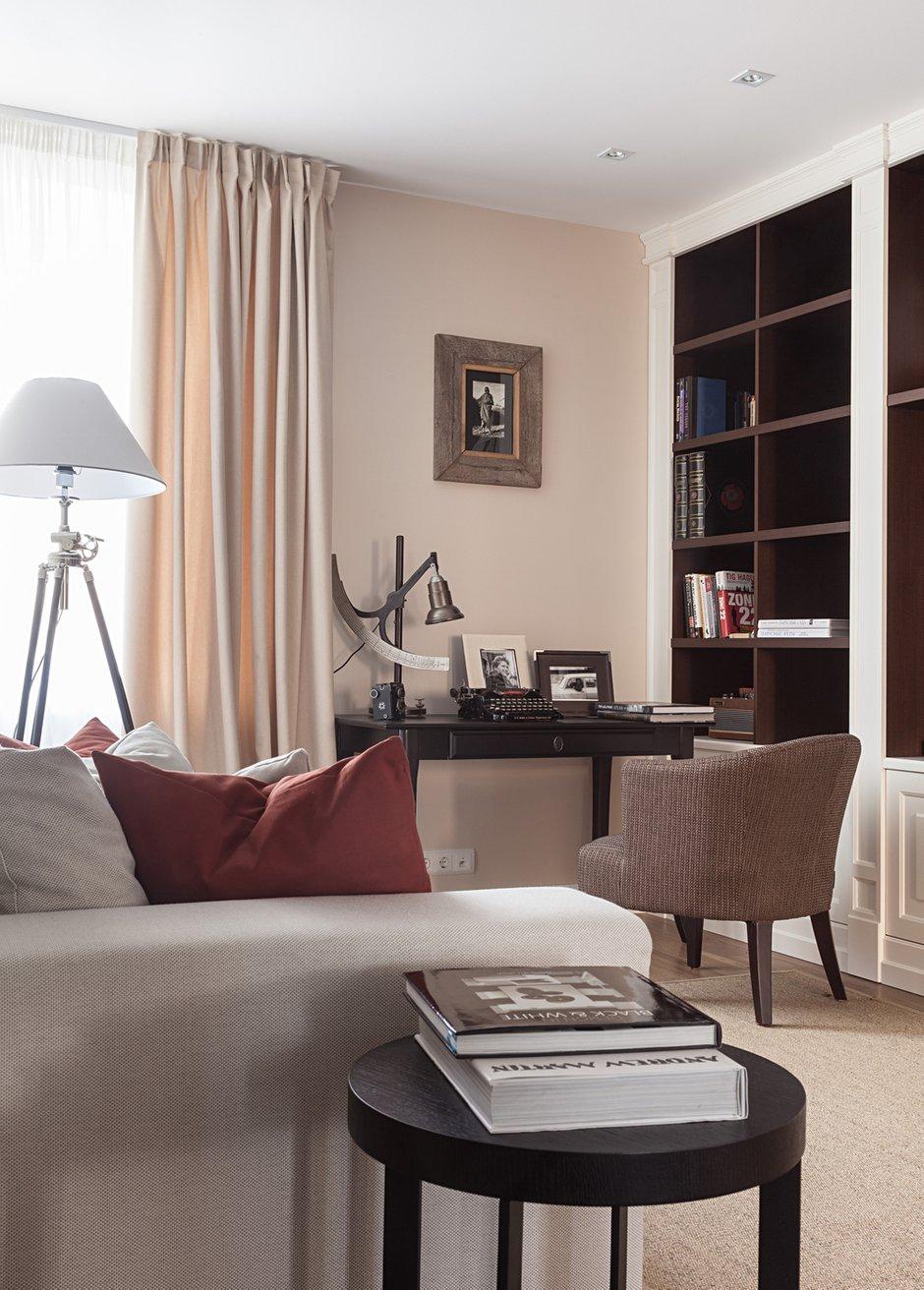 Фотография: Гостиная в стиле Современный, Восточный, Эклектика, Классический, Квартира, Дома и квартиры, IKEA, Проект недели, Дина Салахова – фото на INMYROOM