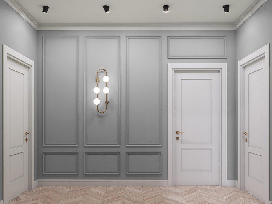 Фотография: Прихожая в стиле Современный, Квартира, Проект недели, Москва, 4 и больше, Более 90 метров, Диана Бганова – фото на INMYROOM