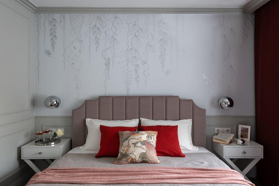Фотография: Спальня в стиле Современный, Квартира, Проект недели, Москва, 2 комнаты, 40-60 метров, Анна Моджаро – фото на INMYROOM