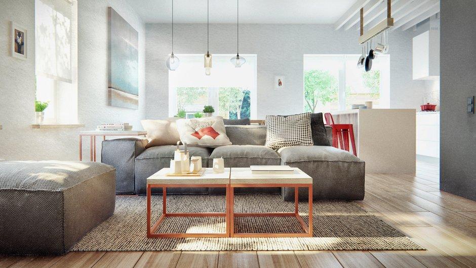 Фотография: Гостиная в стиле Лофт, Современный, Дом, Дома и квартиры, IKEA, Проект недели – фото на INMYROOM