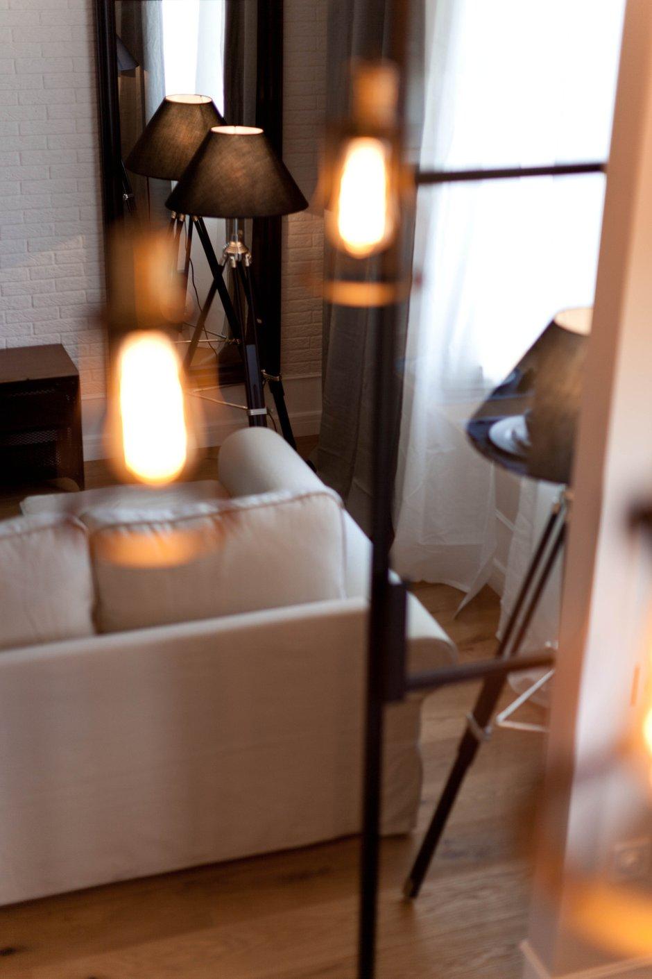 Фотография:  в стиле , Лофт, Скандинавский, Квартира, Проект недели, Москва, Сталинка, 2 комнаты, 40-60 метров, Анна Сухая – фото на INMYROOM