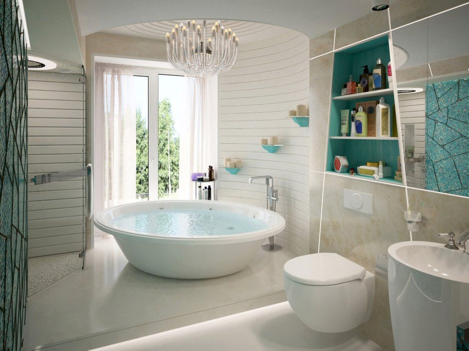 Фотография: Ванная в стиле Современный, Эклектика, Лофт, Квартира, Перепланировка – фото на INMYROOM