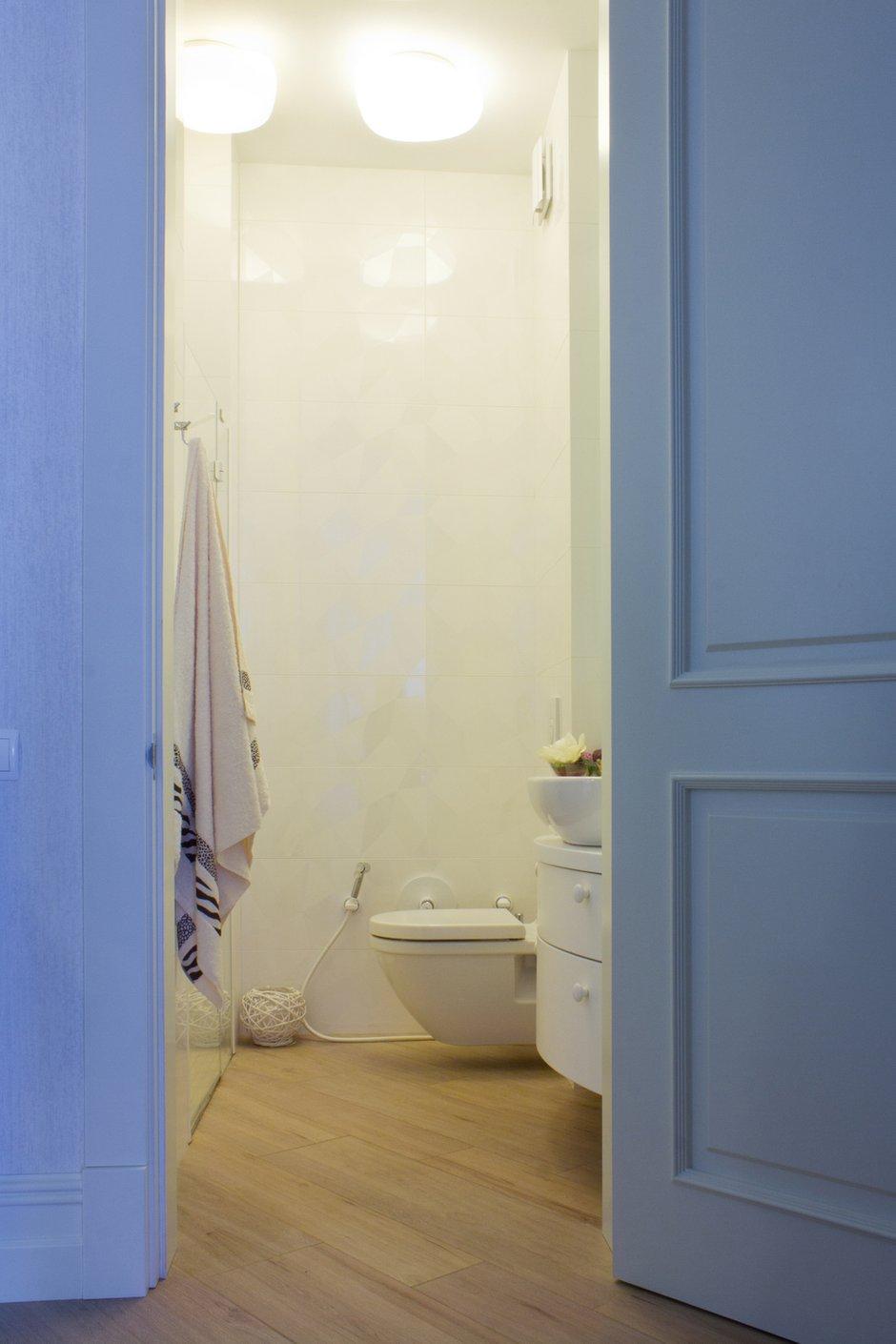 Фотография: Ванная в стиле Современный, Квартира, Дома и квартиры, Ар-деко – фото на INMYROOM