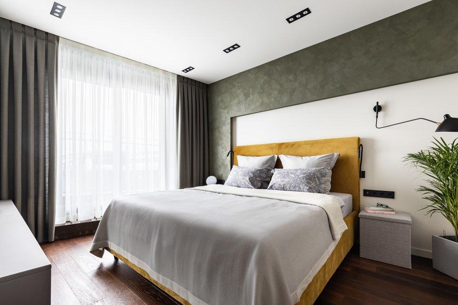 Фотография: Спальня в стиле Современный, Скандинавский, Квартира, Проект недели, Санкт-Петербург, 1 комната, 40-60 метров, Архитектура Интерьера – фото на INMYROOM