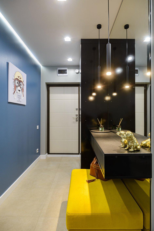 Фотография: Прихожая в стиле Современный, Квартира, Проект недели, Новосибирск, 3 комнаты, 60-90 метров, Студия 3D, Полина Марченко – фото на INMYROOM