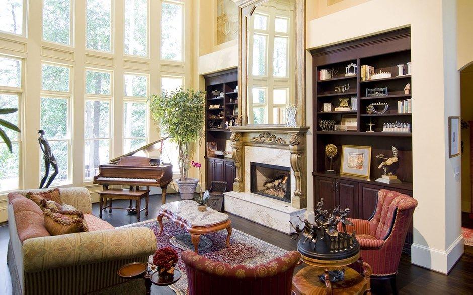 Фотография: Гостиная в стиле Классический, Современный, Декор интерьера, Квартира, Текстиль – фото на INMYROOM