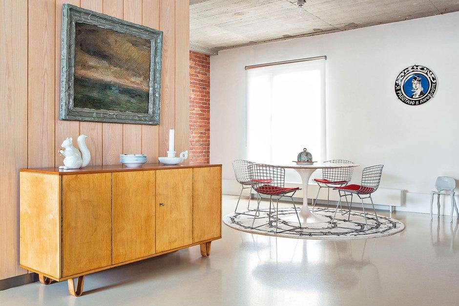 Фотография: Кухня и столовая в стиле Лофт, Дом, Дома и квартиры, Проект недели – фото на INMYROOM