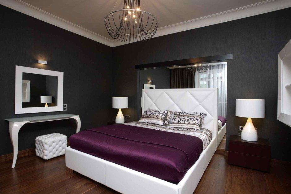 Фотография: Спальня в стиле Эклектика, Современный, Квартира, Дома и квартиры – фото на InMyRoom.ru