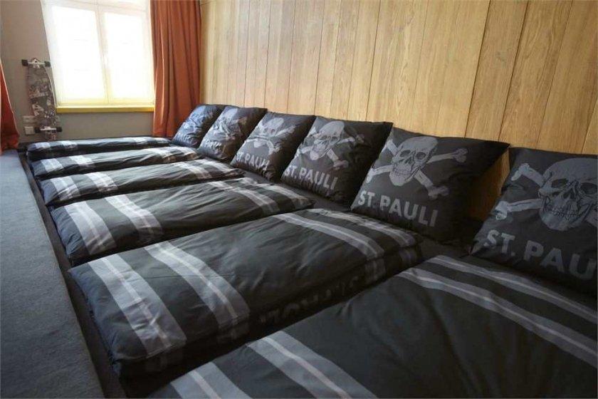 Фотография: Спальня в стиле Современный, Дома и квартиры, Городские места, Отель, Проект недели, Хостел – фото на INMYROOM