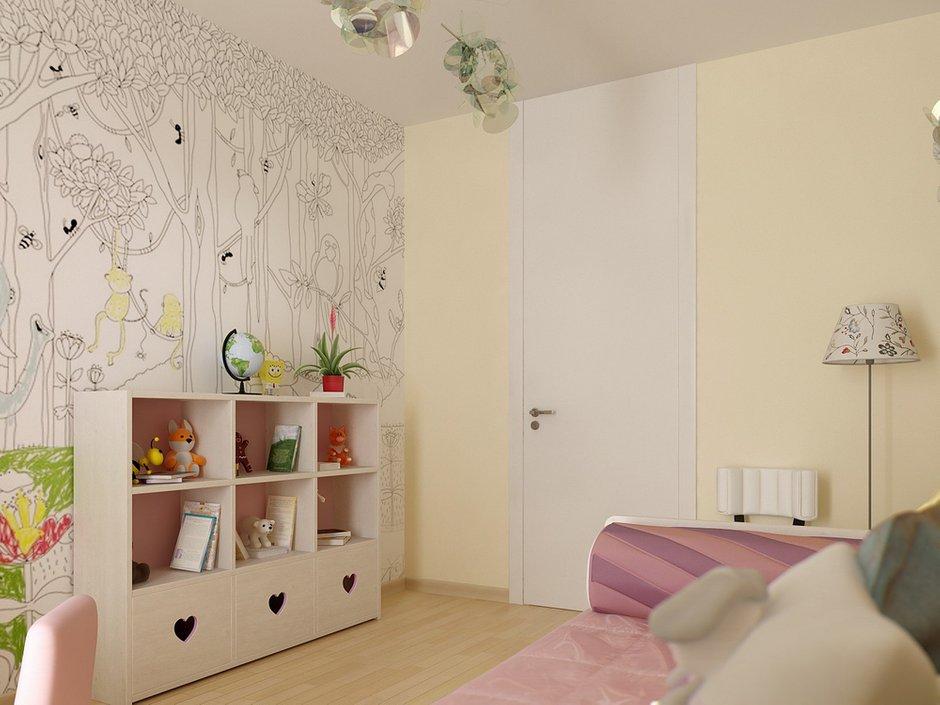 Фотография: Детская в стиле Современный, Квартира, Дома и квартиры, Проект недели, Пентхаус – фото на INMYROOM