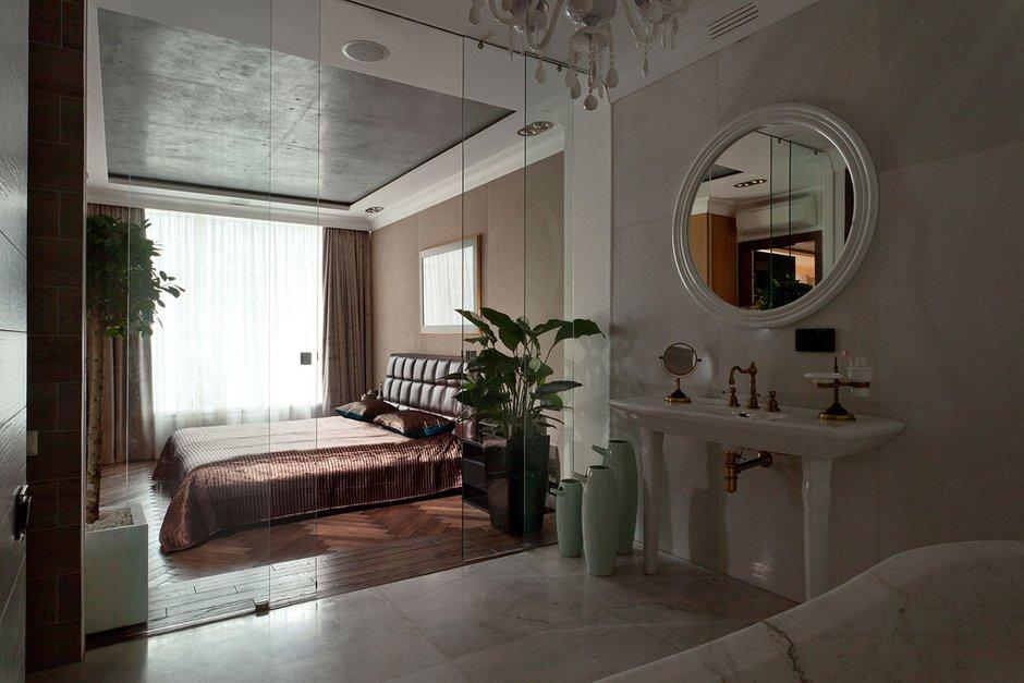 Фотография: Спальня в стиле , Ванная, Классический, Эклектика, Интерьер комнат, Проект недели – фото на INMYROOM