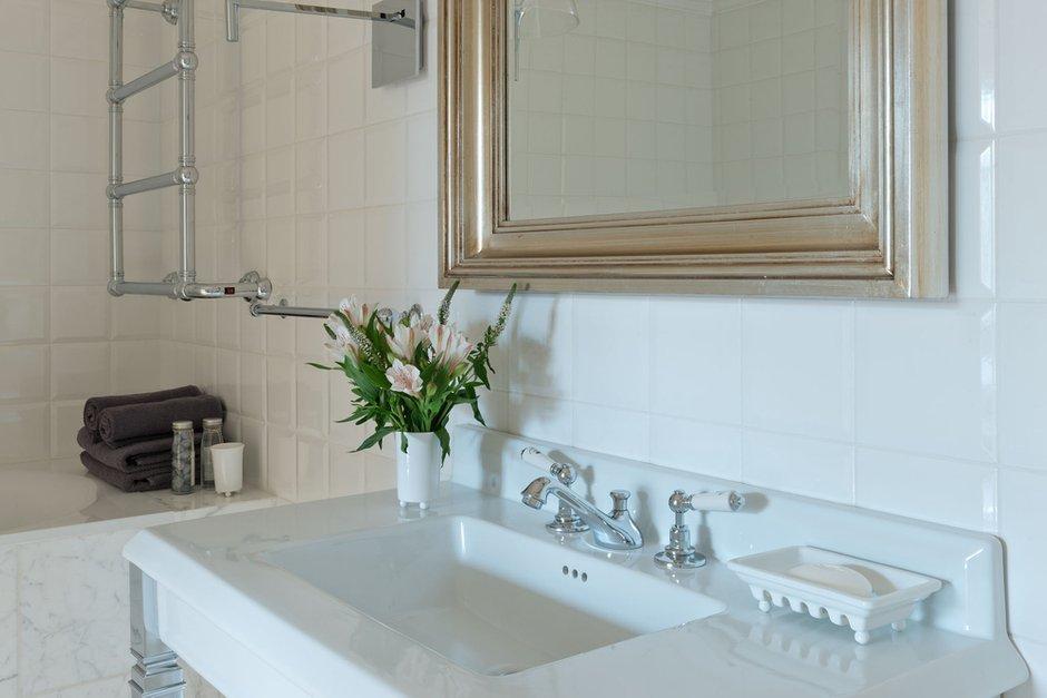Фотография: Ванная в стиле Прованс и Кантри, Современный, Квартира, Декор, Проект недели – фото на INMYROOM