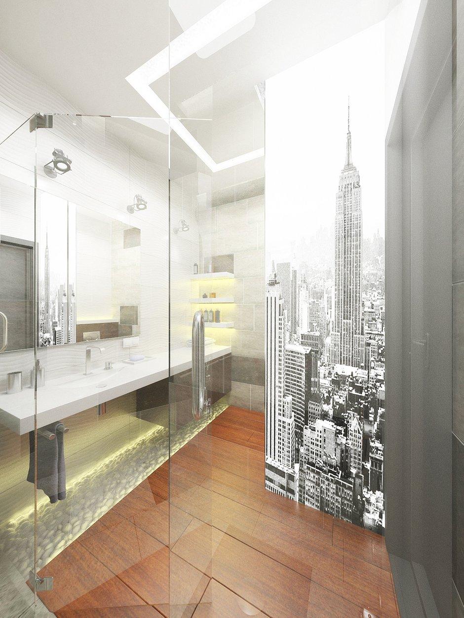 Фотография: Ванная в стиле , Декор интерьера, Квартира, Globo, Massive, Дома и квартиры, IKEA, Проект недели, Ideal Lux – фото на InMyRoom.ru