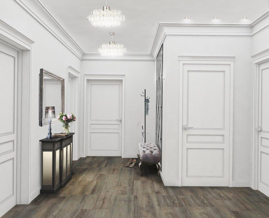 Фотография:  в стиле , Классический, Квартира, Проект недели, Московская область, Раменское, Алена Паутова, новостройка, Монолитный дом, 3 комнаты, Более 90 метров – фото на INMYROOM