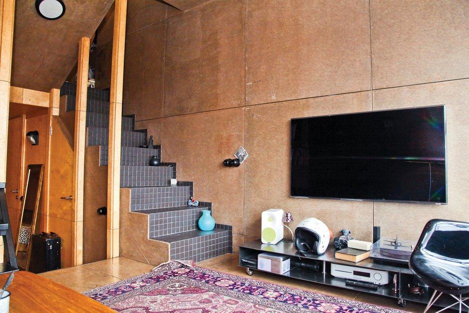 Фотография: Гостиная в стиле , Малогабаритная квартира, Квартира, Дома и квартиры, Квартиры – фото на INMYROOM