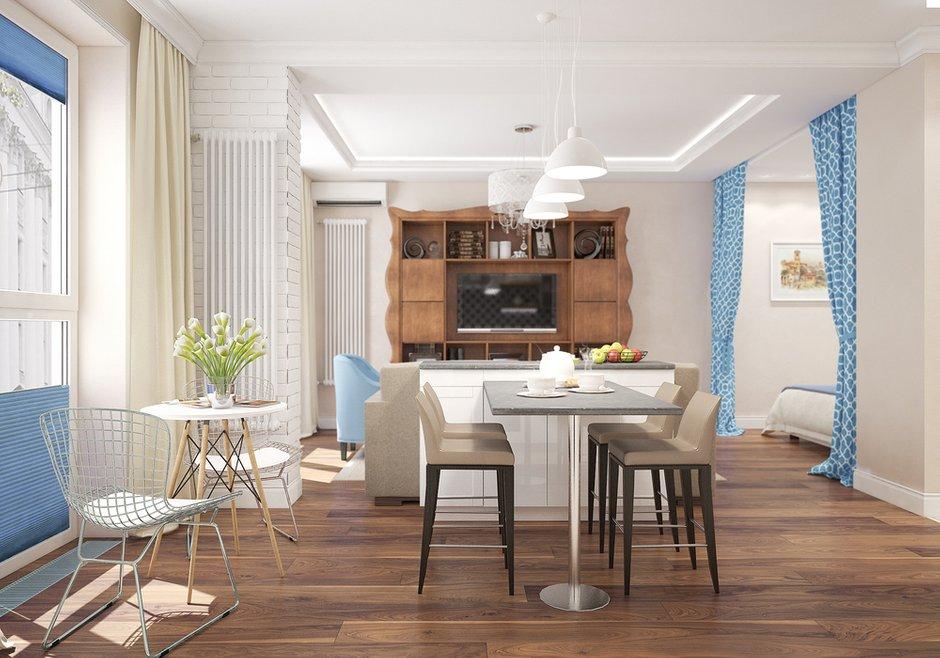 Фотография:  в стиле , Квартира, Студия, Проект недели, Московская область, Студия 3.14 – фото на INMYROOM