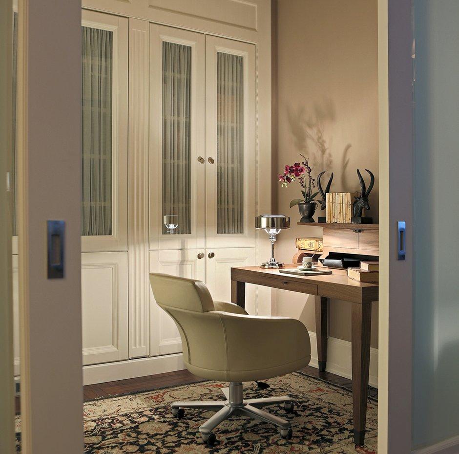 Фотография: Кабинет в стиле Классический, Квартира, Проект недели, Москва, Ар-деко, Faber Group – фото на InMyRoom.ru