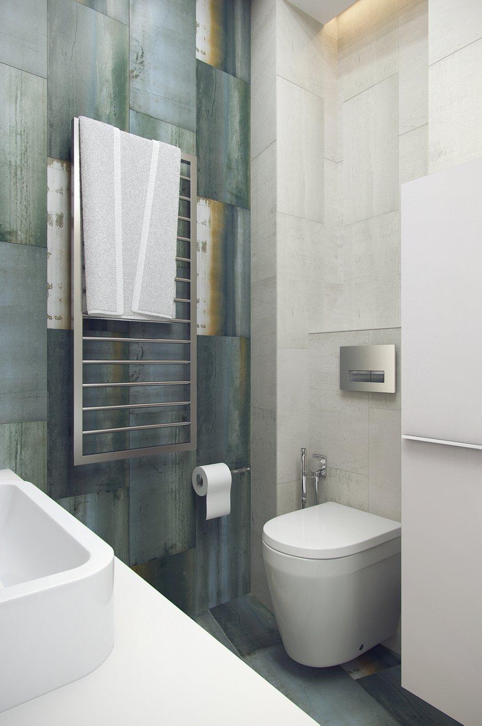 Фотография: Ванная в стиле Современный, Минимализм, Эклектика, Квартира, Проект недели – фото на INMYROOM