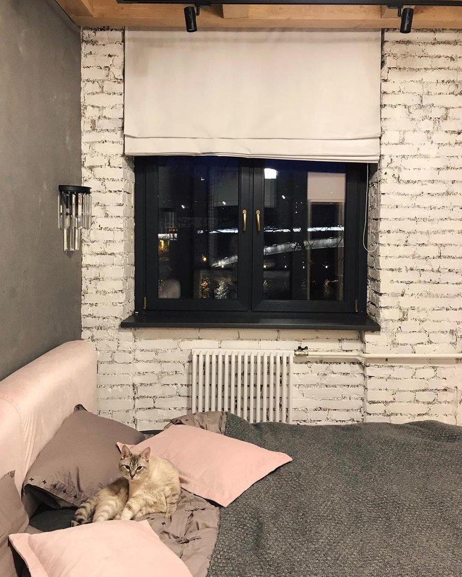 Фотография: Спальня в стиле Лофт, Эклектика, Квартира, Проект недели, Кирпичный дом, 3 комнаты, 60-90 метров, inmybox, Сбербанк – фото на INMYROOM