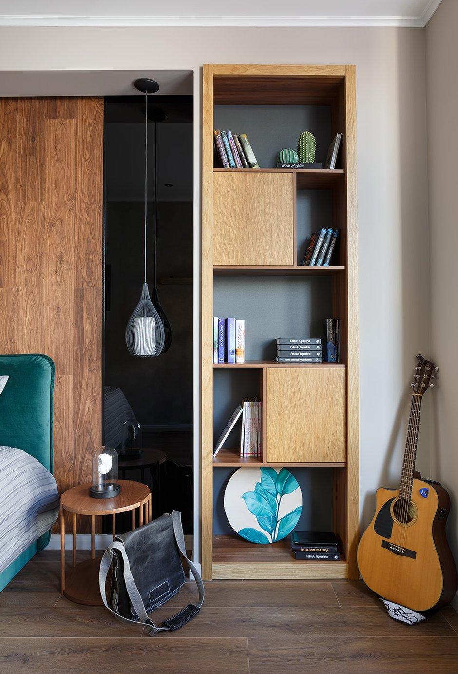 Фотография: Спальня в стиле Современный, Квартира, Проект недели, 1 комната, 40-60 метров – фото на INMYROOM