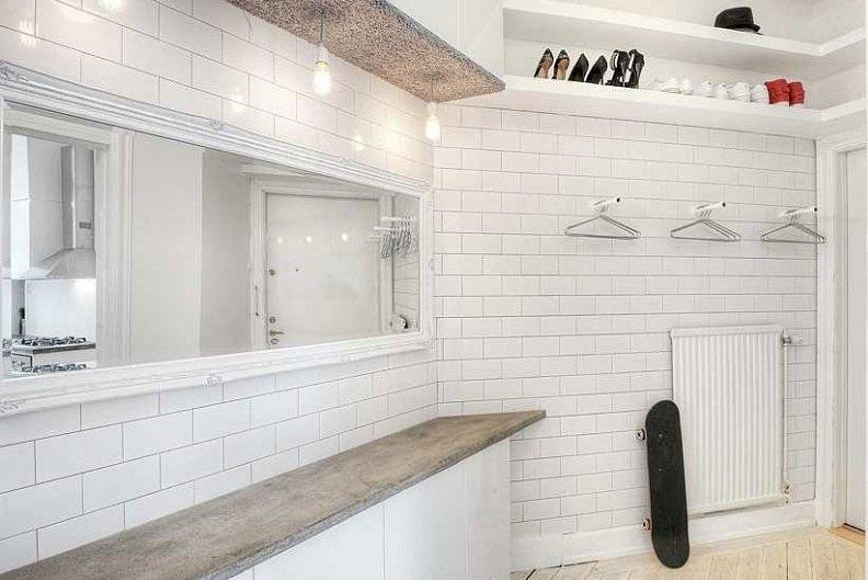 Фотография: Прихожая в стиле Современный, Скандинавский, Квартира, Дома и квартиры, Стокгольм – фото на INMYROOM