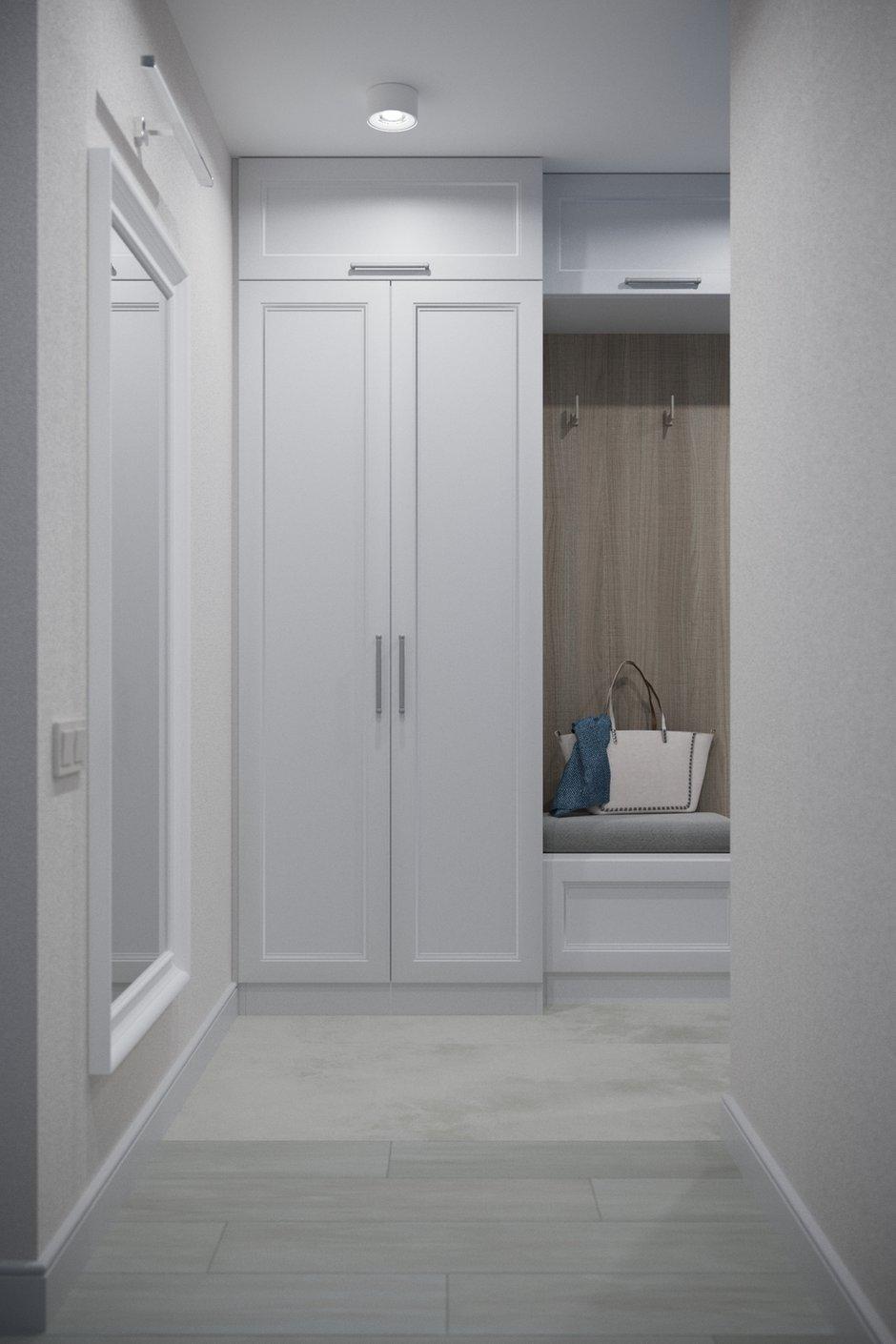 Фотография: Прихожая в стиле Современный, Квартира, Проект недели, Минск, 3 комнаты, 60-90 метров, Protena – фото на INMYROOM