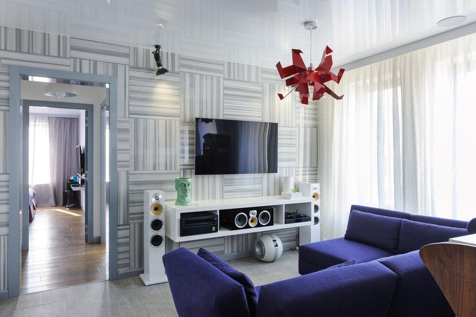 Фотография: Гостиная в стиле , Лофт, Квартира, Дома и квартиры, Проект недели, Поп-арт – фото на INMYROOM