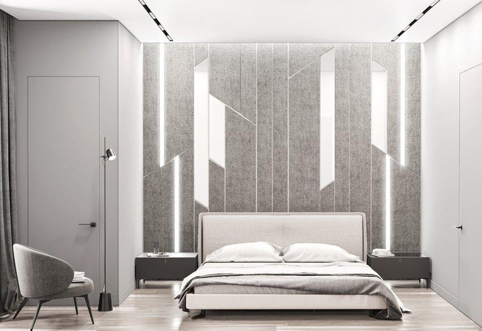 Фотография: Спальня в стиле Современный, Квартира, Miele, Проект недели, Москва, Quadro room, 4 и больше, Более 90 метров – фото на INMYROOM