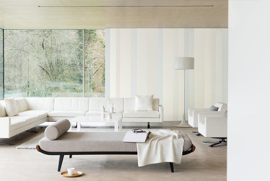 Фотография: Гостиная в стиле Восточный, Декор интерьера, Дизайн интерьера, Цвет в интерьере, Белый, Dulux, Краска – фото на INMYROOM