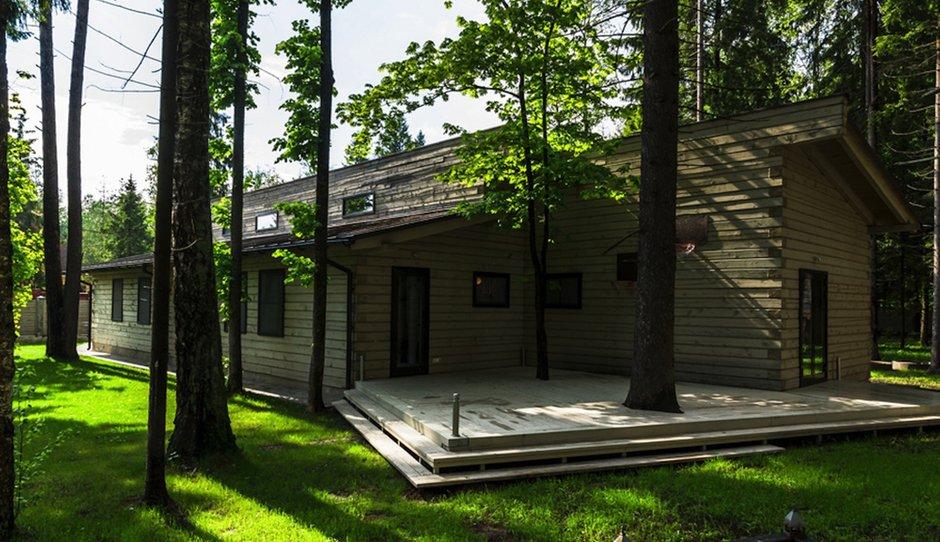 Фотография:  в стиле , Дом, Дома и квартиры, Проект недели, Дача, dom-iz-brusa – фото на INMYROOM