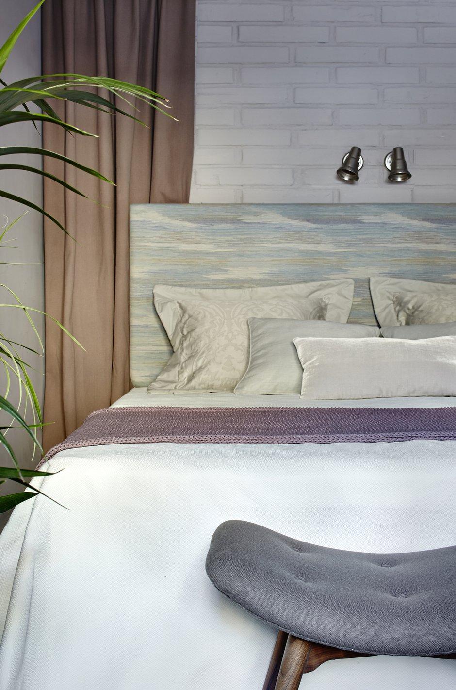 Фотография: Спальня в стиле Скандинавский, Квартира, Проект недели, 2 комнаты, до 40 метров – фото на INMYROOM