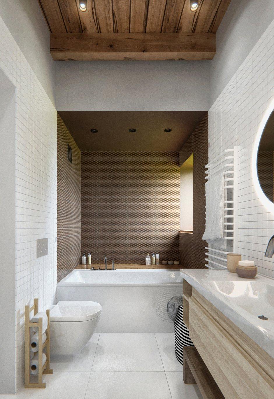Фотография: Ванная в стиле Лофт, Современный, Дом, Дома и квартиры, IKEA, Проект недели – фото на INMYROOM