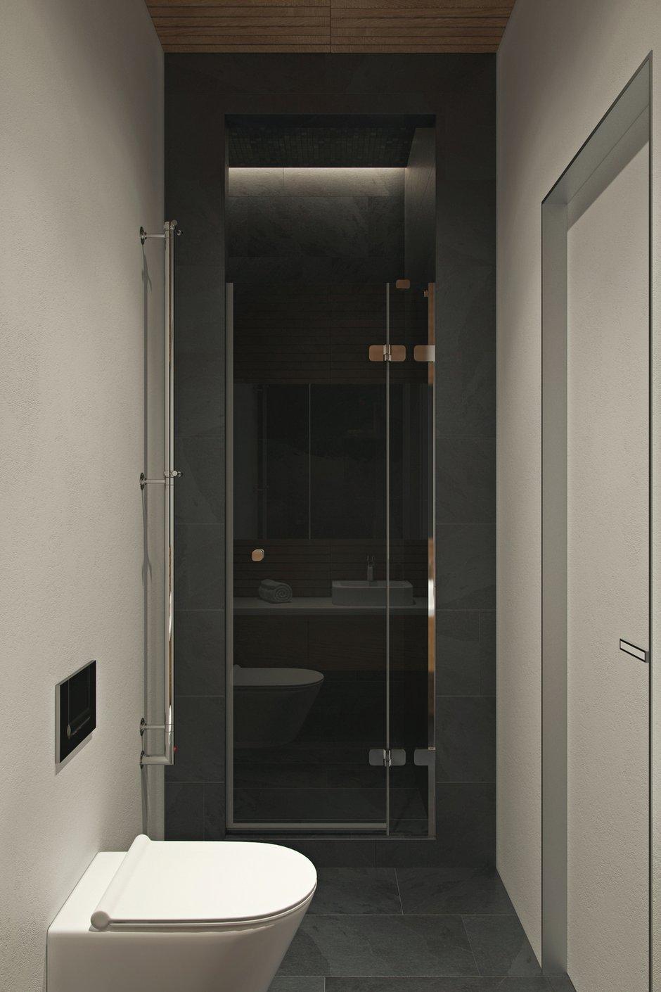 Фотография: Ванная в стиле Современный, Квартира, Проект недели, Москва, Geometrium, 3 комнаты, Более 90 метров, Монолитно-кирпичный, ЖК «Александр» – фото на INMYROOM