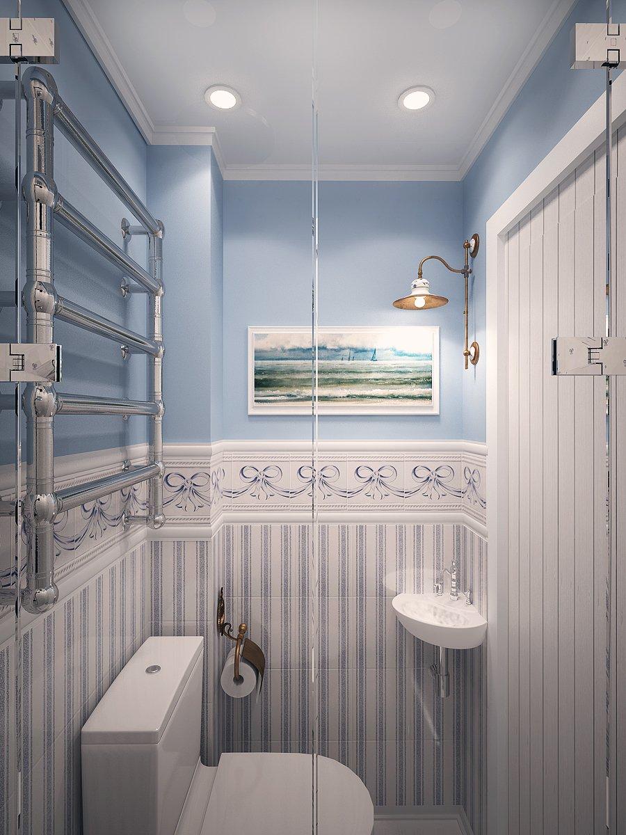 Фотография: Ванная в стиле Прованс и Кантри, Дом, Дома и квартиры, Шале – фото на INMYROOM