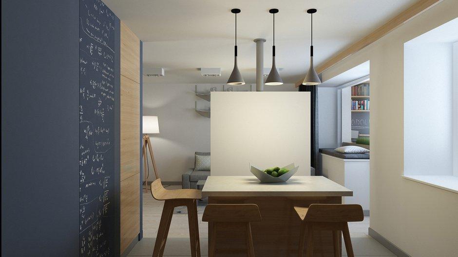 Фотография: Кухня и столовая в стиле Современный, Минимализм, Квартира, Проект недели – фото на INMYROOM