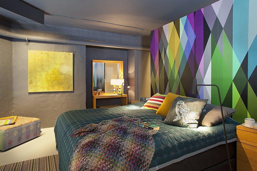 Фотография: Спальня в стиле Современный, Эклектика, Скандинавский, Квартира, Дома и квартиры, Стокгольм – фото на INMYROOM